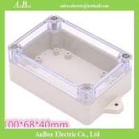 Wholesale 100*68*40mm IP65 electrical clear wall mount electronic design case from china suppliers