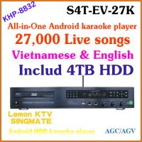 Wholesale 27850 Vietnamese&English songs include 4TB HDD + All-in-one Android KTV home jukebox karaoke system DVD player + TV from china suppliers