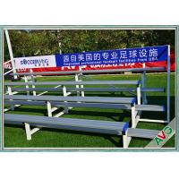 Buy cheap Indoor / Outdoor Soccer Field Equipment Grandstand Bleacher Seats Retractable from wholesalers