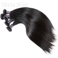 Wholesale Dyeable Double Wefted Real Indian Human Hair Weave Luster And Silky from china suppliers