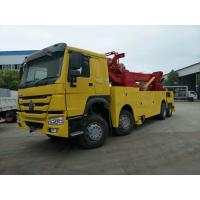 Wholesale Road Heavy Rescue Tow Trucks 8X4 Diesel Fuel Type / Manual Transmission Type from china suppliers