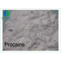 Wholesale 99% Local Anesthetic Drugs Procaine for Pain Killer CAS 59-46-1 from china suppliers