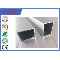 Wholesale HVAC Systems Aluminium Frame Section Profile , Hollow Extruded Aluminum Rectangular Tubing from china suppliers