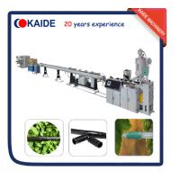 Quality Inline Cylinder PE Drip Irrigation Pipe Production line KAIDE factory for sale