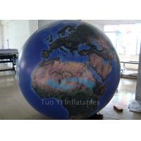 Wholesale Durable Inflatable Globe Ball Giant Event Custom Advertising Inflatables from china suppliers