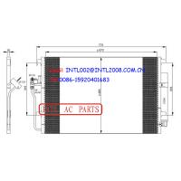 Wholesale 68013633AA 2E0820413 2E0820413A 9065000054 auto a/c condenser with drier Mercedes-Benz Sprinter Volkswagen/vw Crafter from china suppliers