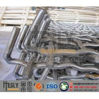 Wholesale Hook Border Crimped Wire Mesh for Mining Screen from china suppliers