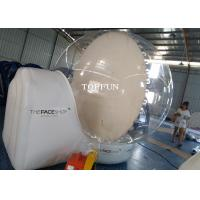 Wholesale CE Clear Snow Globe Outdoor Inflatable Bubble Tent For Exhibition Show from china suppliers
