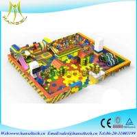 Quality Hansel New style High Quality children indoor playarea Building Blocks playground for sale
