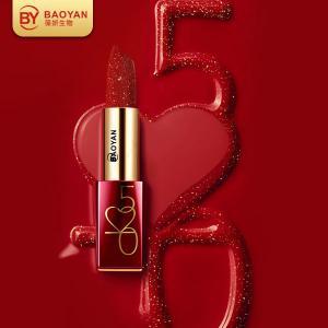 China Magic Diamond Vegan Glitter Lipstick Multiple Colors Plump Lips Brilliant Color on sale