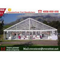 Wholesale Waterproof  Clear Span Tent Aluminum Frame Structure For Outdoor Restaurant from china suppliers