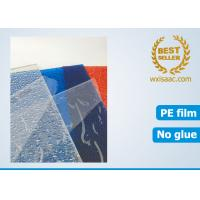 Buy cheap No adhesive protective film for polycarbonate sheet / static film for plastic sheet from wholesalers