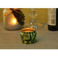 Wholesale Eco Friendly Tin Candle Holders Anti Thermal Candle Wax Shock Resistant from china suppliers