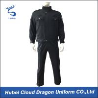 Wholesale Durable Navy Twill Duty Security Guard Apparel , Police And Security Uniforms for Men from china suppliers
