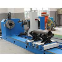 Wholesale CNC Flame / Plasma Pipe Profiling Cutting Machine , High Accuracy Pipe Cutting from china suppliers