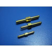 Wholesale Mechanical Precision CNC Turned Components,Brass Pins Electronic Parts, With Zinc Plating from china suppliers