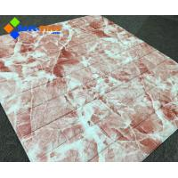 Wholesale 3D Wall panel PE FoamDecor Stone Marble colour from china suppliers