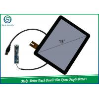 Wholesale 15'' 6H 2 Layers COB Capacitive Touch Sensor / Projected Capacitive Touch Panel For Industrial Monitor from china suppliers