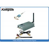 Wholesale Only 8g Lightweight Analog Video Transmitter , 200m Wireless AV Transmitter with 100mW from china suppliers