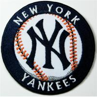 Wholesale New York Yankees Patches Ny Patches Embroidered Iron on Patches from china suppliers