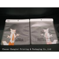 Wholesale Logo Printing Clothing Packing Bags Packaging Pouch With Matt Bopp / Cpp Material from china suppliers