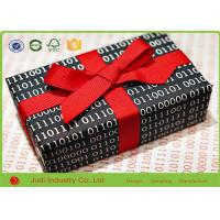 Wholesale Modern Pretty Wrapping Paper , 70 X 300 CM  Holiday Wrapping Paper With Satin Ribbon from china suppliers