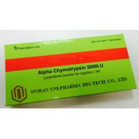 Wholesale Promote Blood Clots Alpha Chymotrypsin Injection 5000 I.U , Lyophilization Vials Injectable Drugs from china suppliers