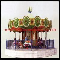 Wholesale Anti-Rust Light&Musical Kids Horse Rides----Merry Go Round from china suppliers