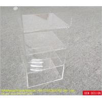 Wholesale Solid 4 Tiers Clear Classify Acrylic Display Stands For Shop Empoly from china suppliers