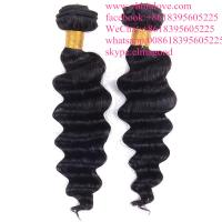 Wholesale Machine double virgin remy human hair grade 8a virgin indian loose wave hair from china suppliers