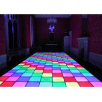 Wholesale SMD3538 sound active dj led disco dance floor , warm white beam led disco floor from china suppliers