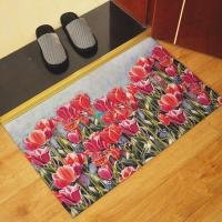 Wholesale Outdoor Rubber Floor Carpet Non-Skid Washable With Rectangular Design from china suppliers