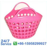 Wholesale Eco-Friendly pink super flexible plastic basket with holes for home - BN6058 from china suppliers