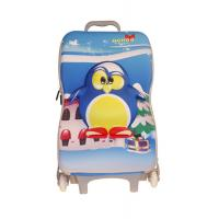 Wholesale Penguin Pattern Kids Travel Bags / Toddler Rolling Luggage Water Resistance from china suppliers