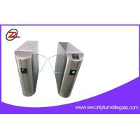 Wholesale Bar code Ticket System Bidirectional Flap Barrier Gate RFID Turnstile For Museum from china suppliers