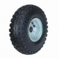 Buy cheap Professional Pneumatic Wheel with Butyle Rubber Innter Tube from wholesalers
