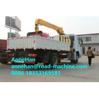 Wholesale Sinotruk Howo Truck Mounted Lorry Crane 6x4 10tires 25T Right Hand Drive from china suppliers