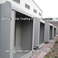 Industrial metal frame powder coating painting booth of for Industrial paint for metal