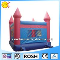 Wholesale Rectangle Outdoor Inflatable Bouncy Castle Water Proof Sewing from china suppliers