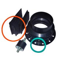 Wholesale Customized Dust Boots Flexible Rubber bellows Parts for Industrial Equipment from china suppliers