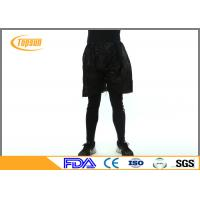 Wholesale Black 45gsm Dustproof PP Nonwoven Disposable Pants Short Sauna Pants from china suppliers