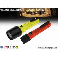 Wholesale Rechargeable LED Explosion Proof Torch flashlight IP68 high water proof grade from china suppliers