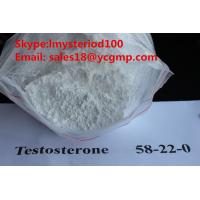 Wholesale Pharmaceutical Bodybuilding Male Enhancement Steroids Raw Testosterone Powders CAS 58-22-0 from china suppliers