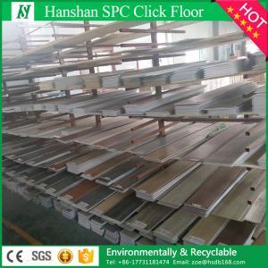 Quality Best Price Indoor waterproof PVC plastic  vinyl plank flooring tiles with SGS for sale
