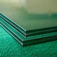 Quality 0.38mm/0.76/1.52mm PVB Laminated Glass with Ce&CCC&ISO&SGS / Clear laminated glass and  colored laminated glass for sale
