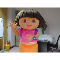Quality Kids Girl Cartoon Character Dora Mascot Costumes  for sale