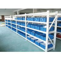 Wholesale 200kg/Level Light Duty Warehouse Pallet Racking , Industrial Metal Storage Shelving from china suppliers