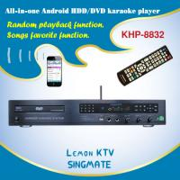 Quality New and fasion All-in-one Android home DVD/HDD jukebox karaoke Player Lemon KTV karaoke system, DVD player + TV for sale