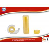 Wholesale Water - based Acrylic Adhesive BOPP Stationery Tape For School / Office from china suppliers