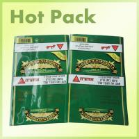Wholesale Self Adhesive Smokeless Chewing Tobacco Pouches , Small Plastic Bags For Drugs from china suppliers